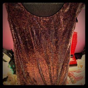 Marina pink and purple sparkle dress